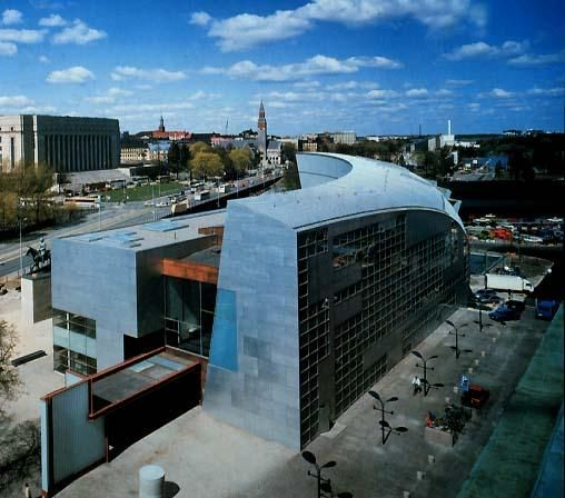 Kiasma Museum of Contemporary Art, Helsinki, Finland...