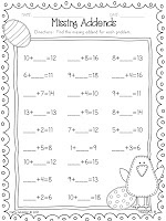 1000+ images about math-missing addends on Pinterest | Part Part ...