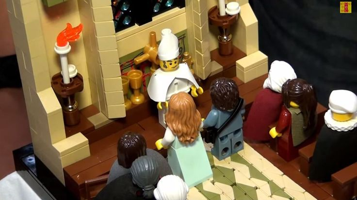 Celebrate romance with detailed Lego versions of famous Princess Bride scenes - the details are crazy amazing!!!  I LOVE THIS!!!!!!!!
