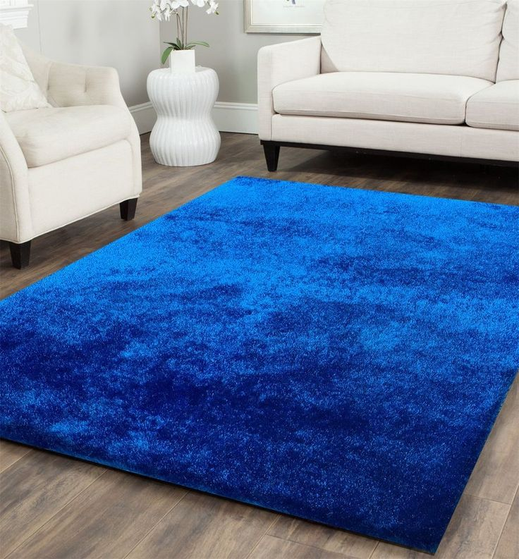 vibrant ideas royal blue area rug. Summer HOT Sale  Size 5 x 7 ft Handmade Solid Electro Blue Shag best rugs images on Pinterest Rugs and Area