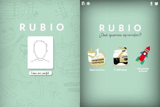 Cuadernillos Rubio en el Ipad i Cuadernos.