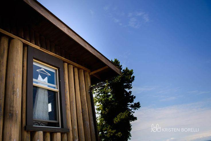 Gabriola Island Wedding Photography | Kristen Borelli Photography | Prince George Wedding Photographer | Dress in the window