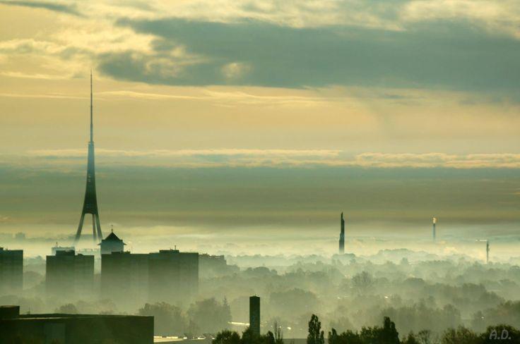 A fantastic view over Riga.