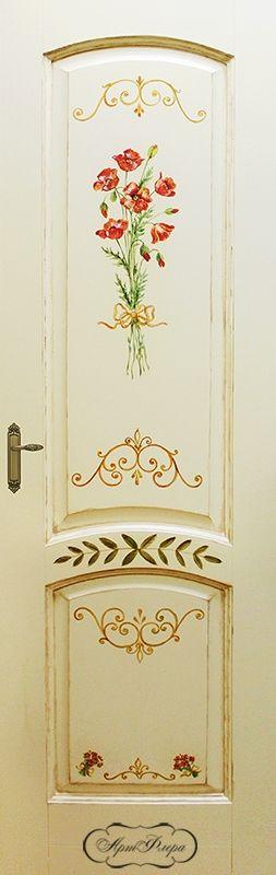 """Дверь """"Маки"""", фрагмент"""