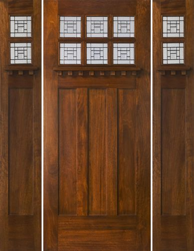 17 Best Images About Arts And Crafts Doors On Pinterest Wisteria Craftsman And Glasses