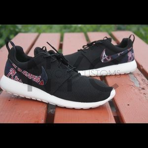 Atlanta Braves Nike Roshe One Custom
