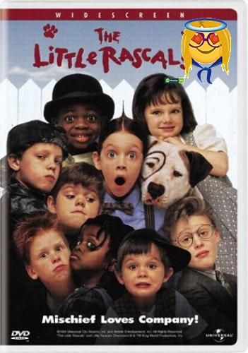 #wow They're all #here! Spanky, Alfalfa, Buckwheat, Darla, Stymie, Porky, Petey the dog and all of the #rascals star in this hilarious motion picture hit. The Lit...