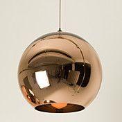 Mini Globe Pendant, 1 Light, Minimalist Metal... – EUR € 57.74