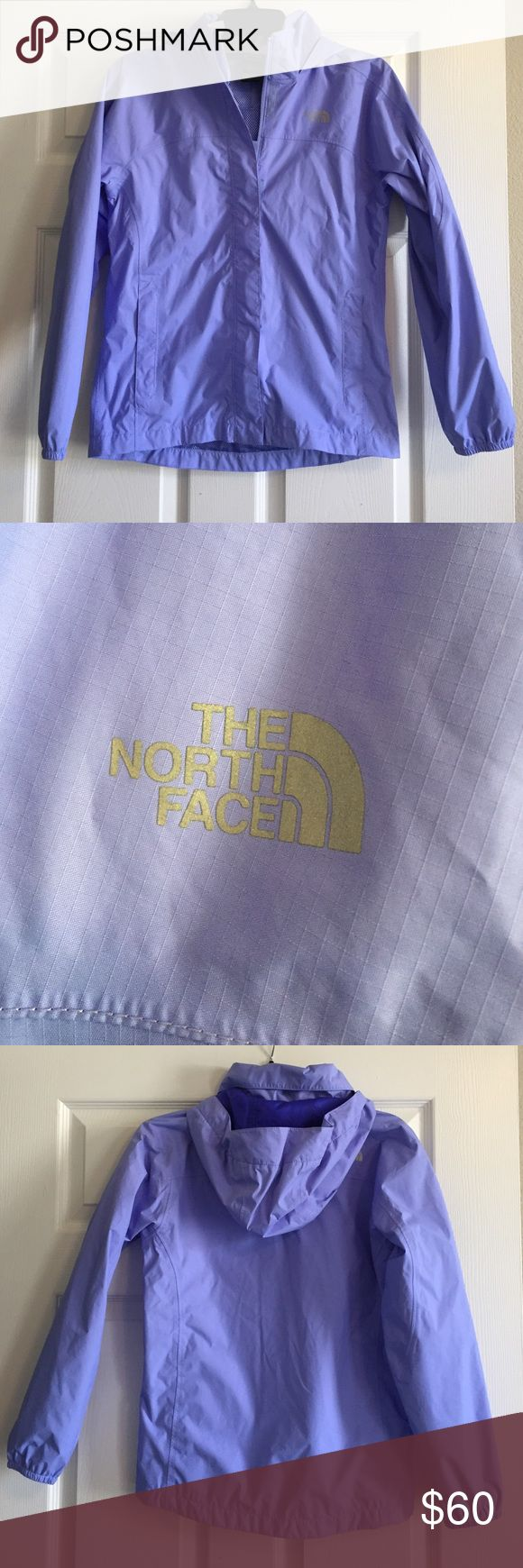 Girls North Face Jacket Great condition. Girl's Size Large (14/16). Color is periwinkle. North Face Jackets & Coats