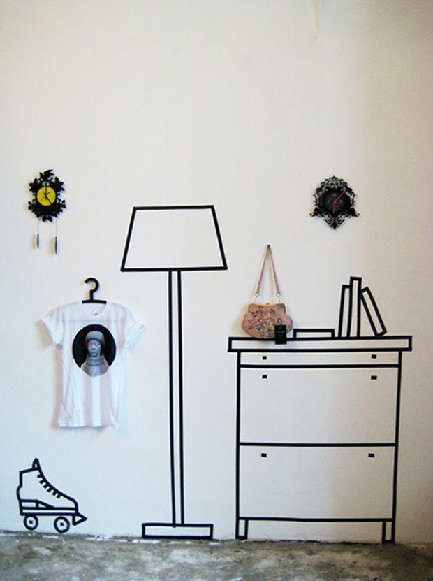 follow-the-colours-black-tape-fita-isolante-desenho-parede-04