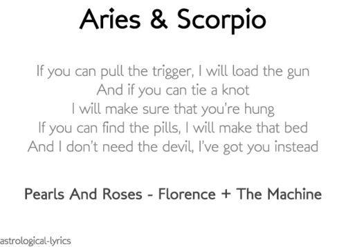 scorpio dating aries