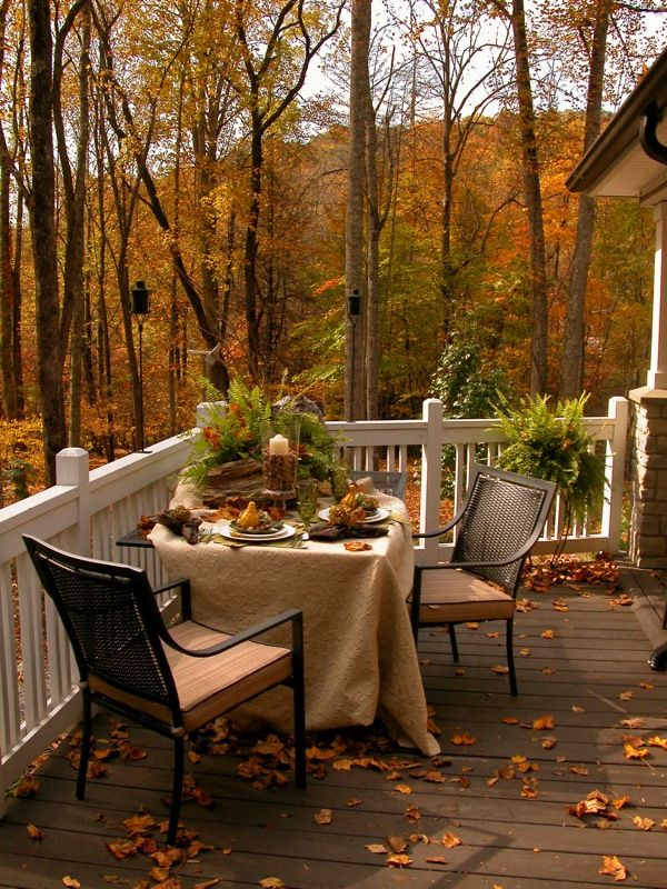 autumn day: Leftover Turkey, Decor Ideas, Fall Decor, Fall Dinners, Outdoor, Soups Recipes, Cups Of Coff, Back Porches, Fall Porches