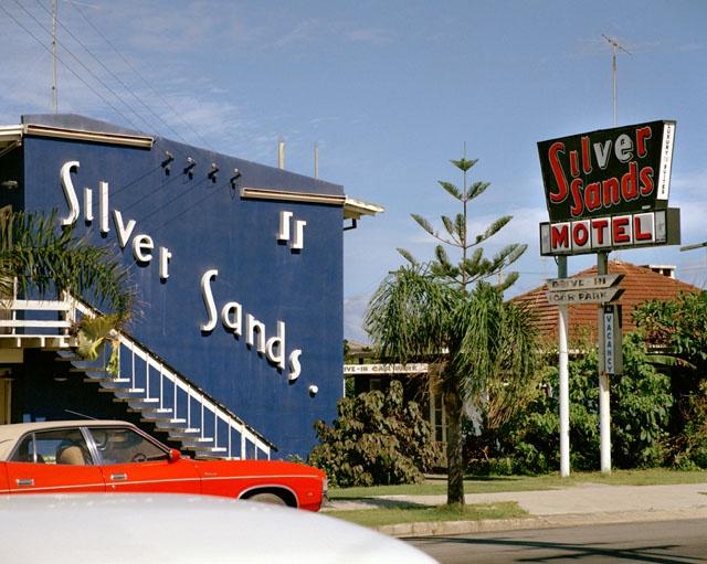 silver sands motel, surfers paradise, 1975