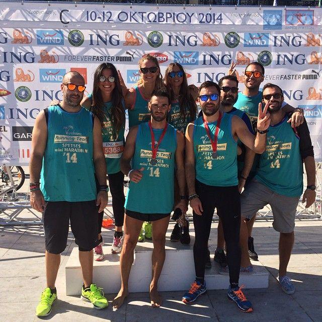 Spetses Mini Marathon vandazzz team runnerzzz! Team photo! vandazzz_com's photo on Instagram