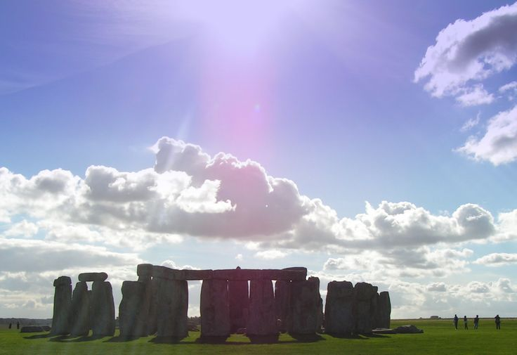 Stonehenge, Wiltshire, UK.  Travels featured in the Campervan Capers books/blog by Alannah Foley.