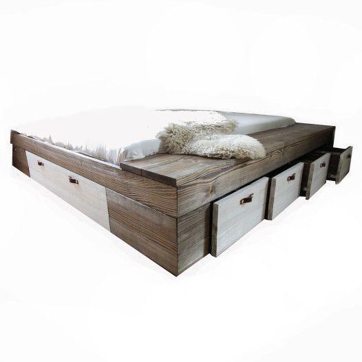 manželská postel přírodní