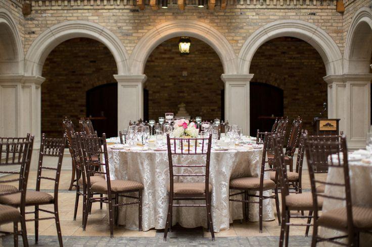 Hacienda Sarria wedding reception decor