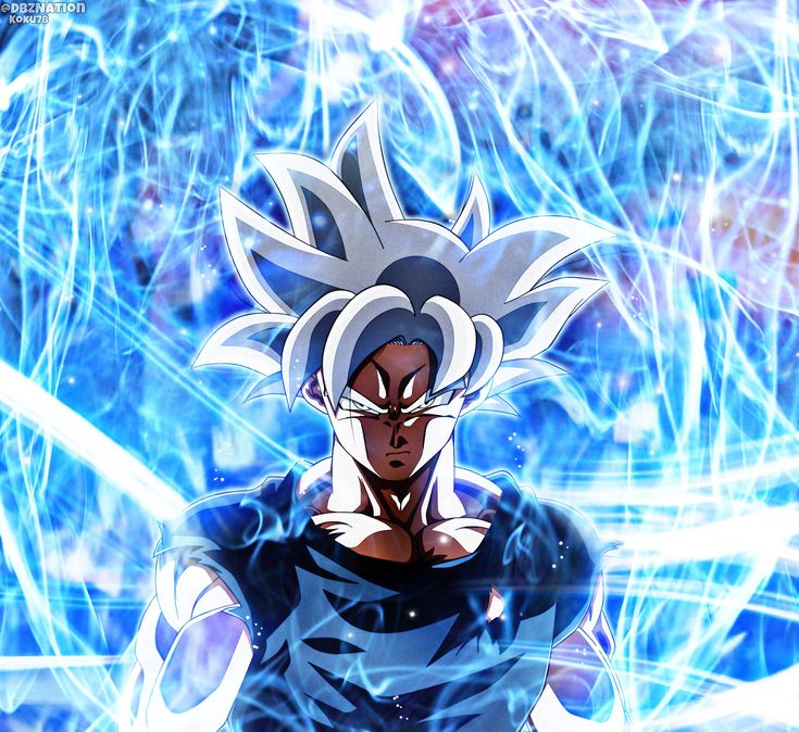 """246 mentions J'aime, 4 commentaires - Hybrid (ハイブリッド) (@dbznation) sur Instagram : """"Son Goku has mastered Ultra Instinct breaking his limits once more - Art by Koku78 (swipe to see…"""""""