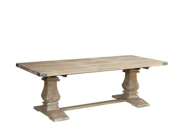 Mango Wood Dining Table Carved Legs