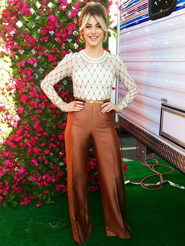 Julianne Hough's DWTS Photo Diary: Week 3 Is All About the '70s   People   Anita Patrickson