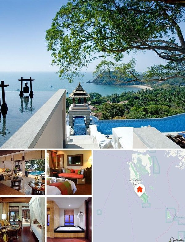 Questo resort nei pressi della spiaggia è costruito nella foresta e occupa una superficie di 100 acri. È circondato da vegetazione tropicale e vanta accesso diretto ad una spiaggia di sabbia incontaminata di 900 metri sul Mare delle Andamane. L'aeroporto internazionale di Krabi dista 2 ore.