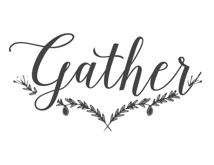 Dining Room Gather Sign