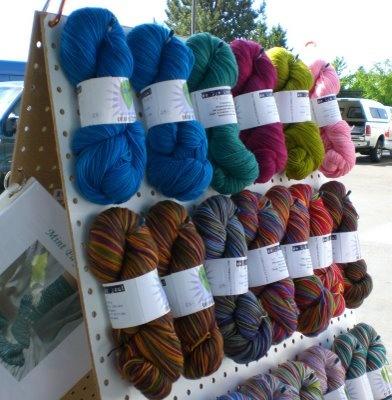 pegboard yarn display