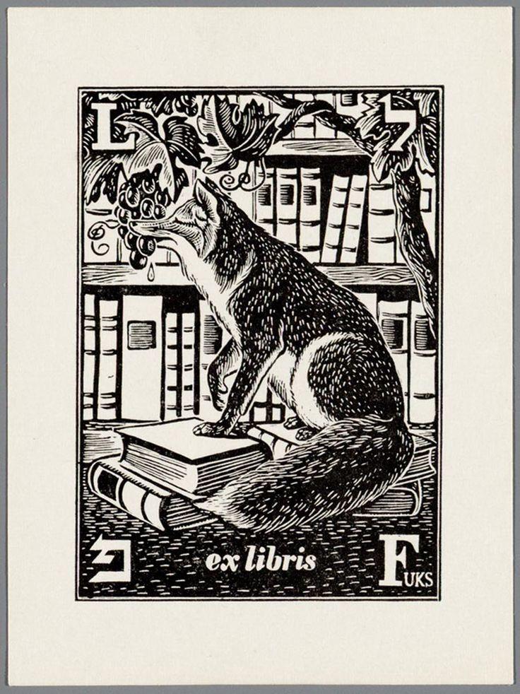 [L. Fuks]  Ex Libris