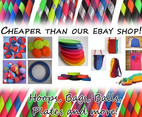 Hula Hoops For Sale | Hand made hula hoops by Jazzphab