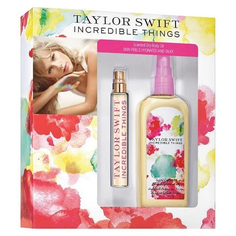 """I wish she would release a new fragrance called something like """"crystal skies"""" from blank space or maybe one from her other songs like New Romantics and it could be called """"scarlet letters"""" I think that would be so cool"""
