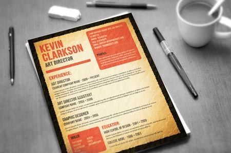 Creativemarket Most Wanted Resume 29909