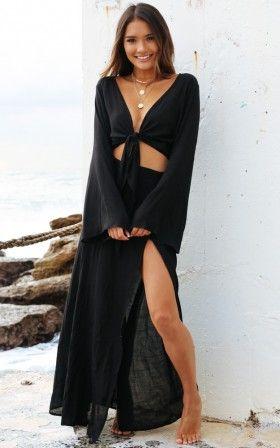 Misty Eyed Skirt in Black
