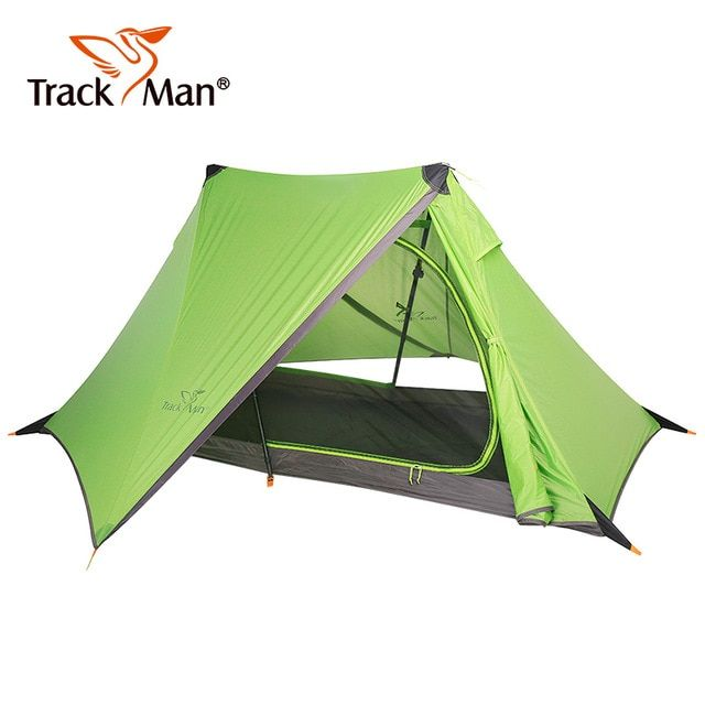 1 Person Outdoor Camping Tents 940g No Pole Tent Lightweight Alpine Rodless Tent Riding Double Layer Silicone Hiking Tent Outdoor Tent Hiking Tent Tent Reviews