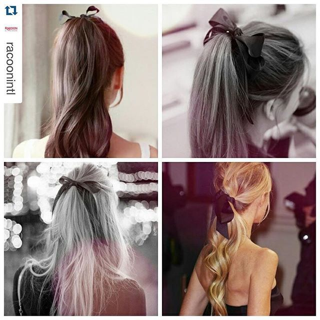 We love these beautiful ponytails #racoonhairextensions #miltonkeynes #hairsalon #hair