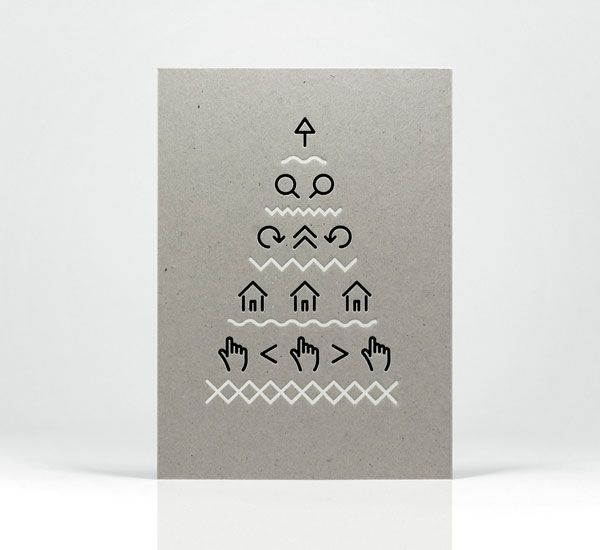 FPO: Maddison Graphic Christmas Card