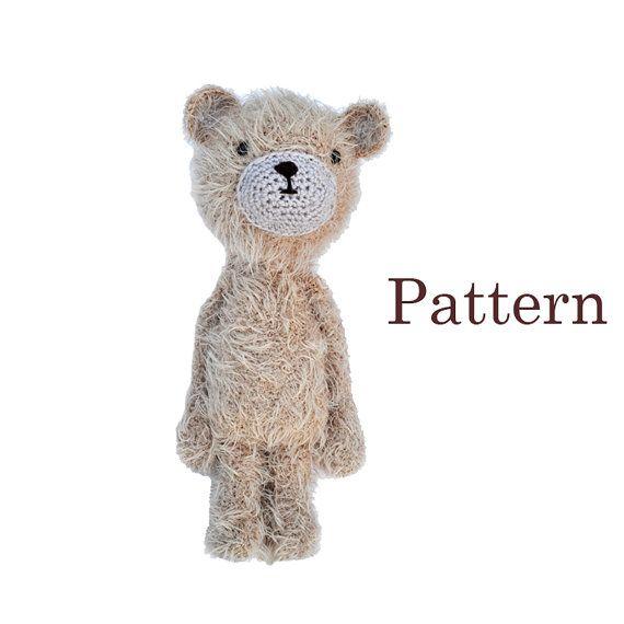 Amigurumi Crochet Fluffy Bear Pattern  DIY Cute by roamingpixies