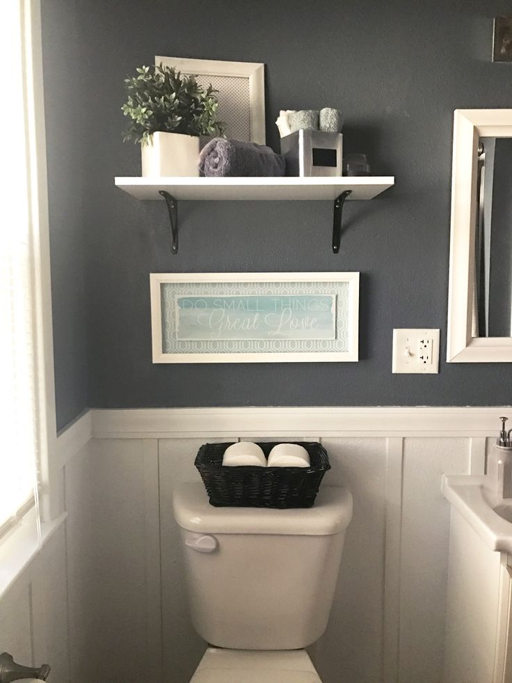 Bathroom Decor With Grey Walls : Best dark gray bathroom ideas on and