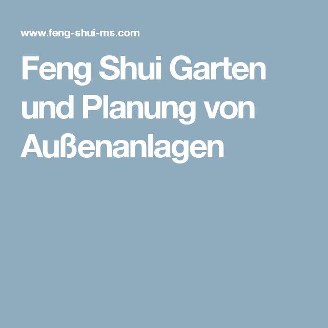 Feng Shui Garten Und Planung Von Außenanlagen