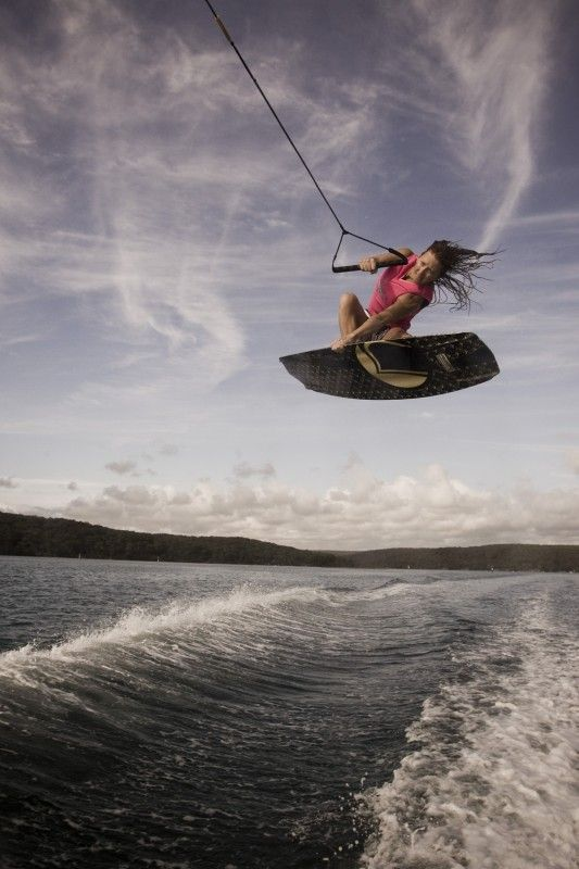 Goal for this summer! Wakeboarding