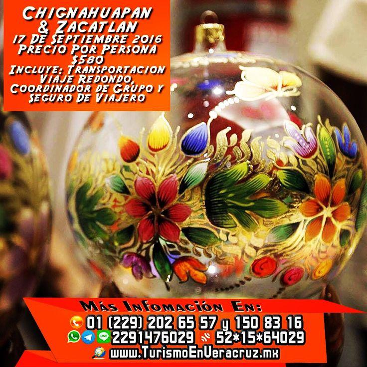 Vamos de #compras este 17 de septiembre a #Chignahuapan y #Zacatlán saliendo de #Veracruz #Xalapa Precio Por Persona $580 http://www.turismoenveracruz.mx
