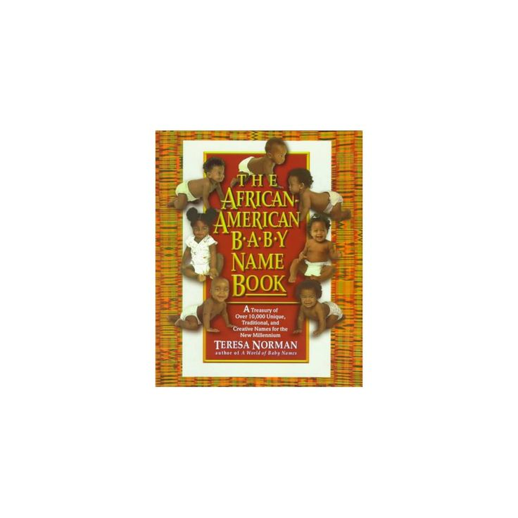 The African-American Baby Name Book (Paperback)
