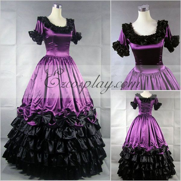 Hot Sale Sweetheart Corset Gothic Purple Wedding Dress: 1000+ Images About Gothic Wedding Dresses On Pinterest