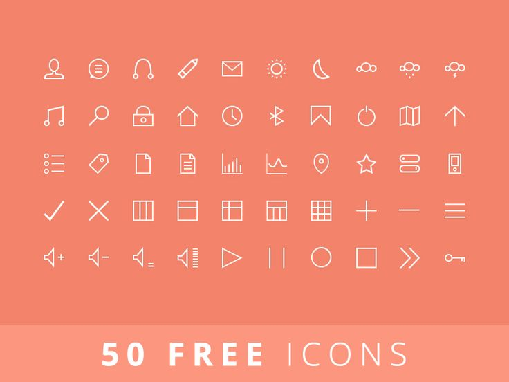 Hey guys,   I've been working on my first ever set of pixel perfect thin icons (vector) so let me know what you think!   Grab the free PSD in the attachment and don't forget to check out the real p...