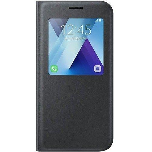 Original S-View Standing Cover Θήκη Samsung Galaxy A5 2017 - Black Προστατέψτε την συσκευή σας από την καθημερινή φθορά με αυτήν την γνήσια flip θήκη της Samsung.  https://www.uniqueshop.gr/original-s-view-standing-cover-galaxy-a5-2017-black.html