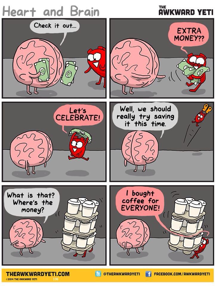 I have done this, more than once, with hot cocoa. The Awkward Yeti comics http://theawkwardyeti.com