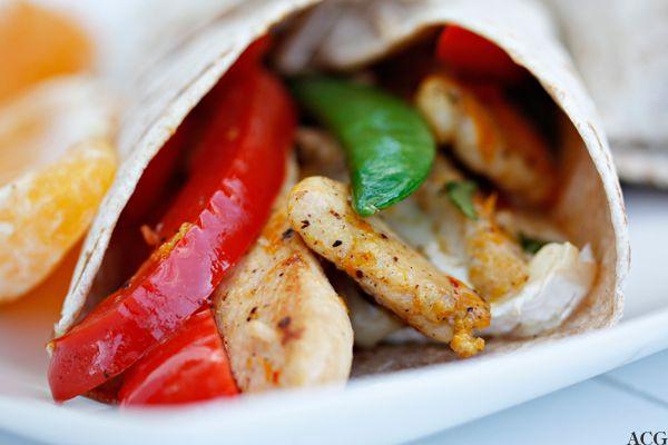 Bilderesultat for kylling wraps