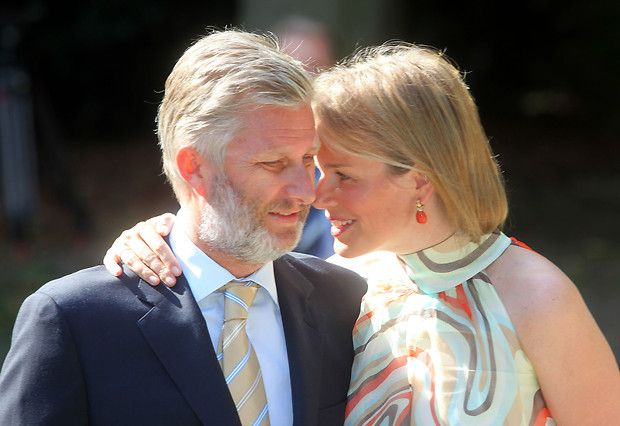 Miss Honoria Glossop:  Crown Prince Philippe and Crown Princess Mathilde of Belgium