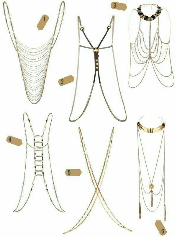 accesorios para el cuerpo