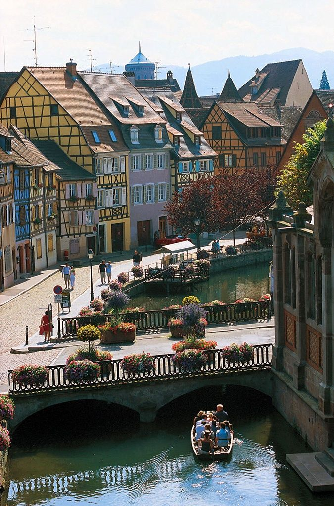 COLMAR, FRANCE   Quaint and charming Colmar looks like something right out of a snow globe. Its architecture is well preserved and when blanketed by snow, the entire city seems to sit in peaceful silence.