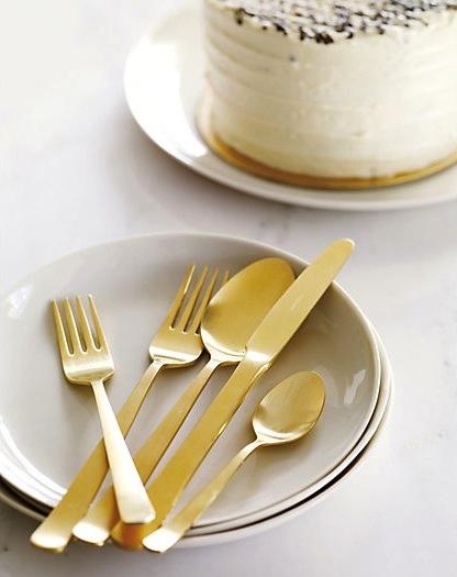 gold cutlery by herdmar. #gold #cutlery #herdmar #design